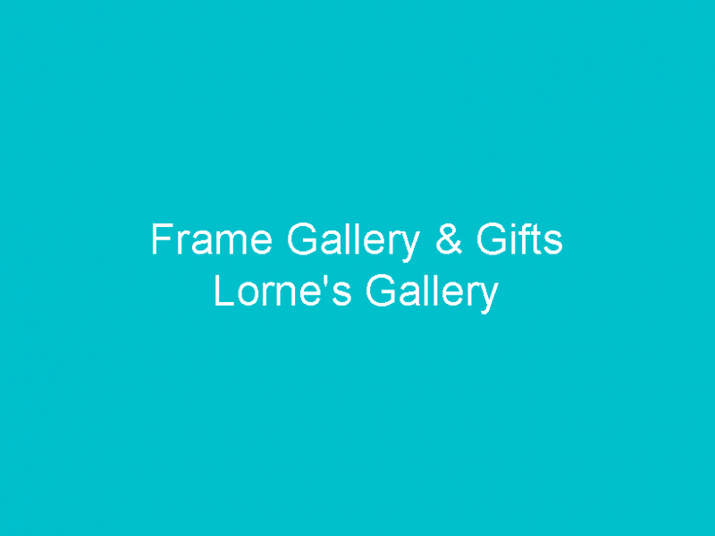 Frame Gallery & Gifts • Cape Coral