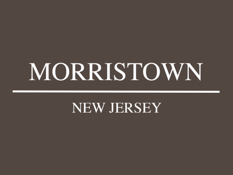 Morristown • New Jersey