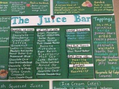 The Juice Bar • Nantucket